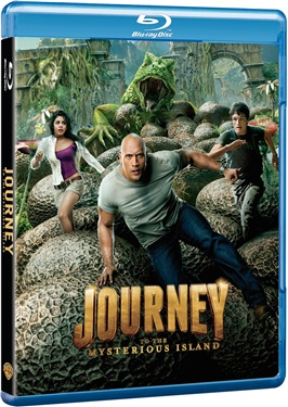 Journey 2 the Mysterious Island (beg hyr blu-ray)