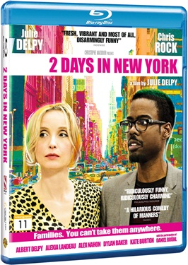 2 Days in New York (beg hyr blu-ray)