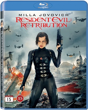 Resident Evil: Retribution (beg hyr blu-ray)
