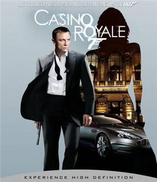 CASINO ROYALE (beg blu-ray)