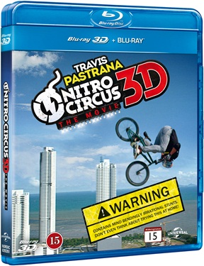 Nitro Circus: The Movie (3D+2D)blu-ray