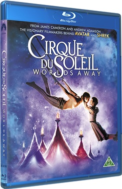 Cirque Du Soleil: Worlds Away (bly-ray)