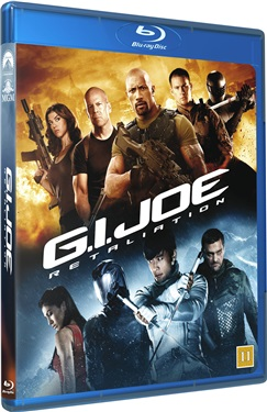 G.I. Joe: Retaliation (beg hyr blu-ray)