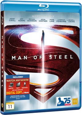 Man of Steel (beg blu-ray)