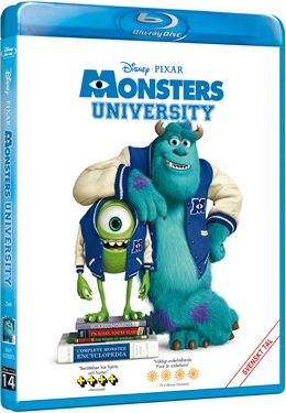 Monsters University (beg blu-ray)