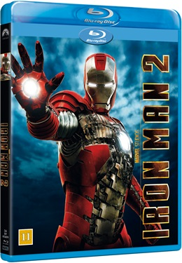 Iron Man 2 (beg BLU-RAY+dvd)