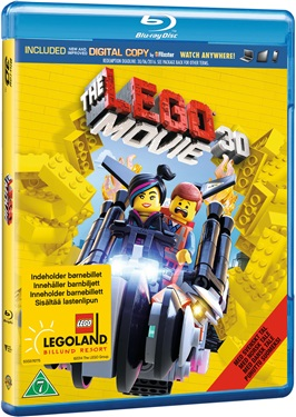 LEGO Movie (3D) beg blu-ray