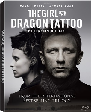 Girl with the Dragon Tattoo (beg hyr blu-ray)