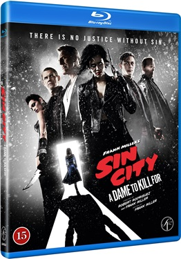 Sin City: A Dame to Kill For (beg hyr blu-ray)