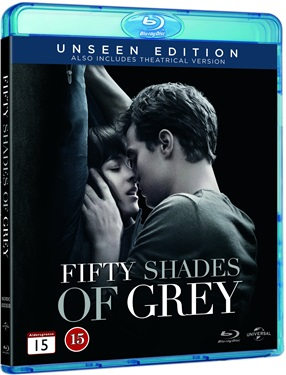 Fifty Shades of Grey (beg blu-ray)
