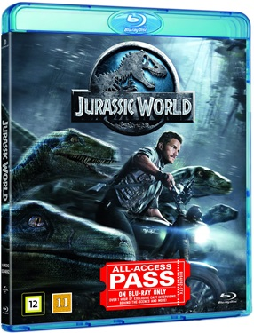 Jurassic World (beg blu-ray)