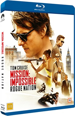 Mission: Impossible 5 Rogue Nation  (beg blu-ray)