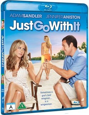 Just go with it/Min låtsasfru (beg Hyr blu-ray)