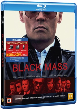 Black mass (beg hyr blu-ray)