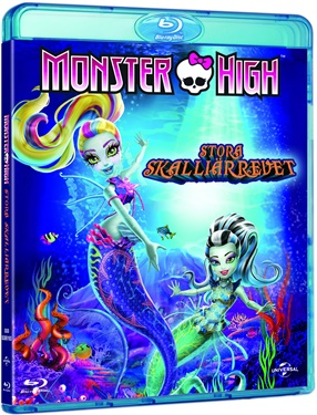 Monster High: stora skalliärrevet (blu-ray)