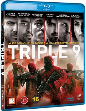 Triple 9 (beg Hyr blu-ray)