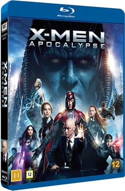 X-Men: Apocalypse (beg blu-ray)