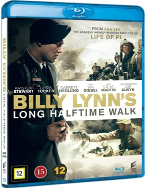 Billy Lynn's Long Halftime Walk (beg hyr blu-ray)