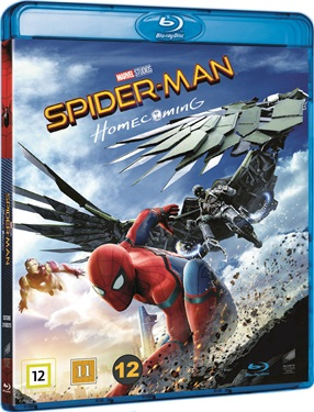 Spider-Man: Homecoming (beg blu-ray)