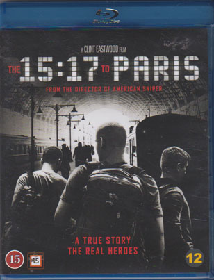 15:17 To Paris (beg Hyr blu-ray)