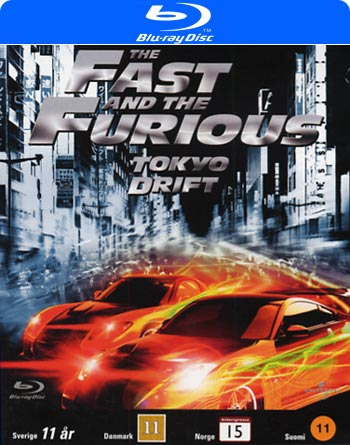 Fast and the Furious 3 Tokyo Drift (Blu-Ray)