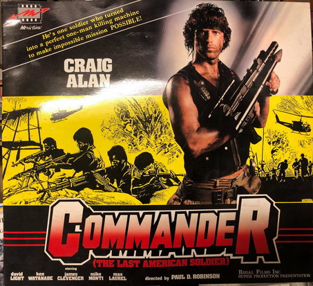 COMMANDER - THE LAST AMERICAN SOLDIER - REKLAM