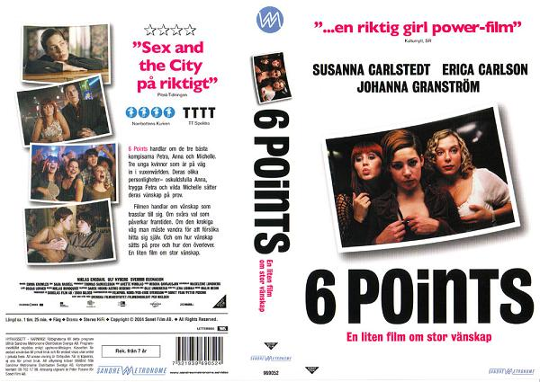 6 POINTS (vhs)