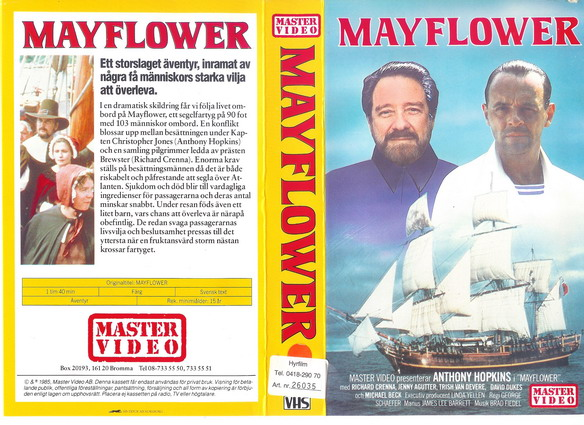 8501 MAYFLOWER (VHS)