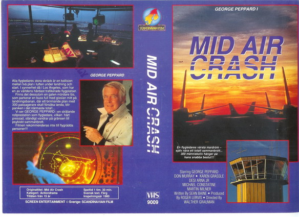 9009 MID AIR CRASH (VHS)