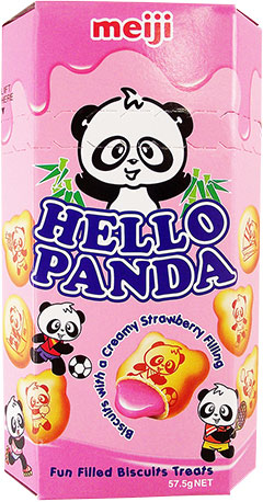 HELLO PANDA STRAWBERRY