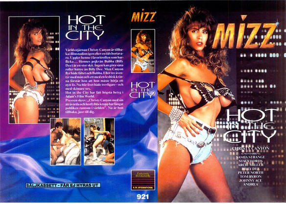 921 HOT IN THE CITY (vhs)