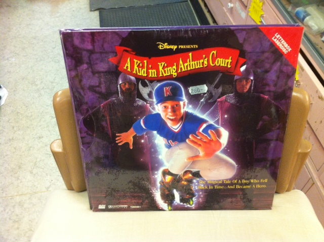 A KID IN KING ARTHUR'S COURT (LASER-DISC)