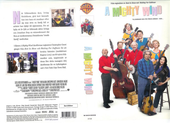 A MIGHTY WIND (VHS)