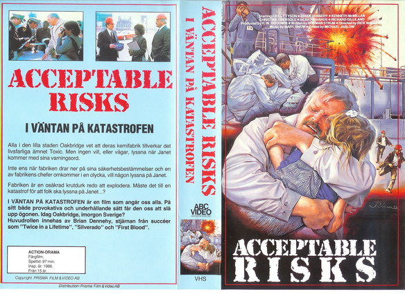 ACCEPTABLE RISK (VHS)