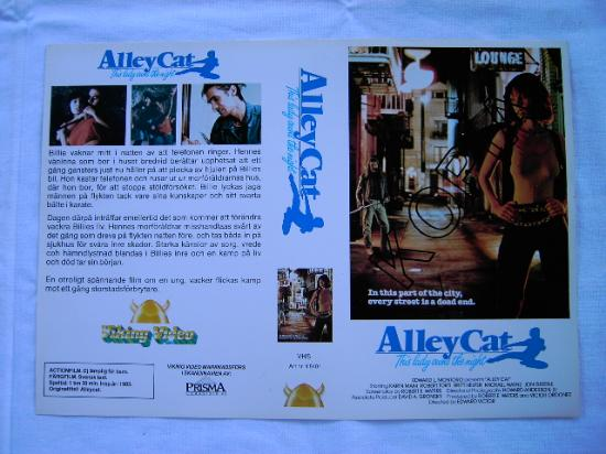 ALLEY CAT (VHS)