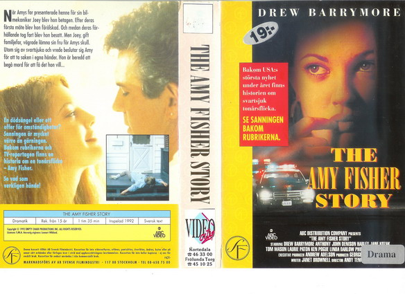 AMY FISHER STORY (VHS)