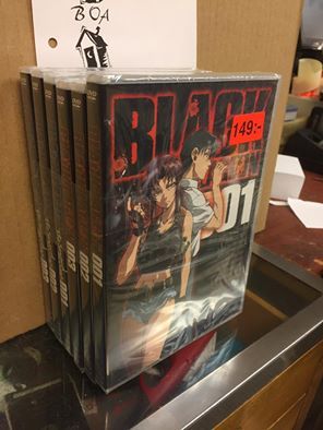 BLACK LAGOON  SEASON 1+2 (DVD)
