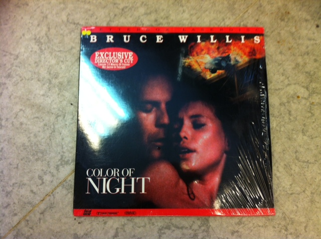 COLOR OF NIGHT (LASER-DISC)