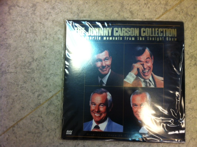 JOHNNY CARSON COLLECTION (LASER-DISC)