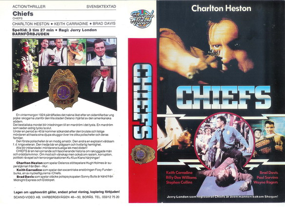 CHIEFS (VHS)