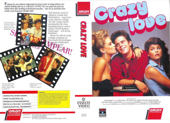 CRAZY LOVE (VHS)