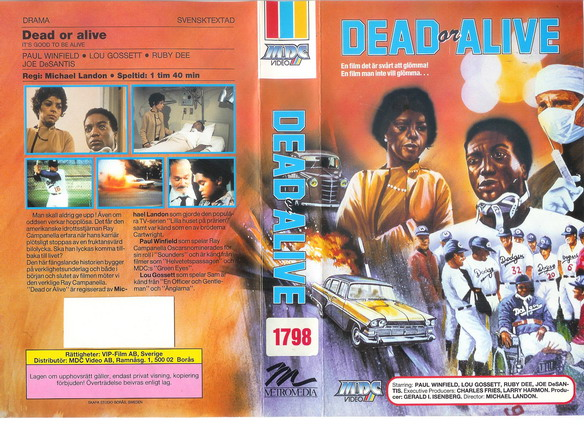 DEAD OR ALIVE  (VHS)