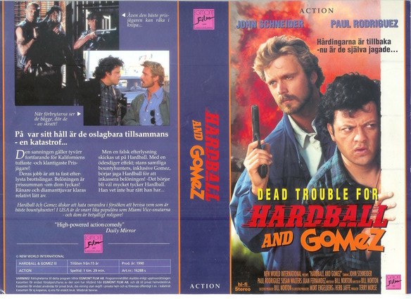 DEAD TROUBLE FOR HARDBALL AND GOMEZ (VHS)