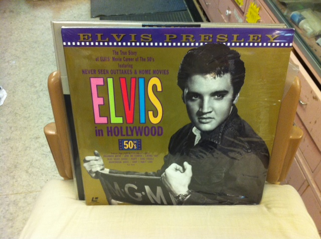 ELVIS IN HOLLYWOOD (LASER-DISC)