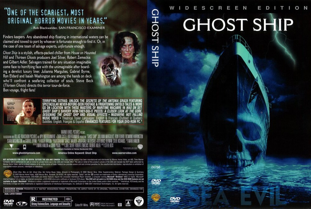 GHOST SHIP (DVD) USA