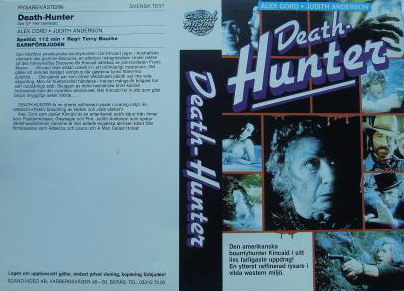 DEATH HUNTER (VHS)