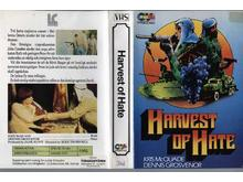 106 HARVEST OF HATE (VHS)