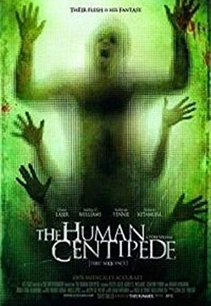 Human Centipede (beg dvd) uk import