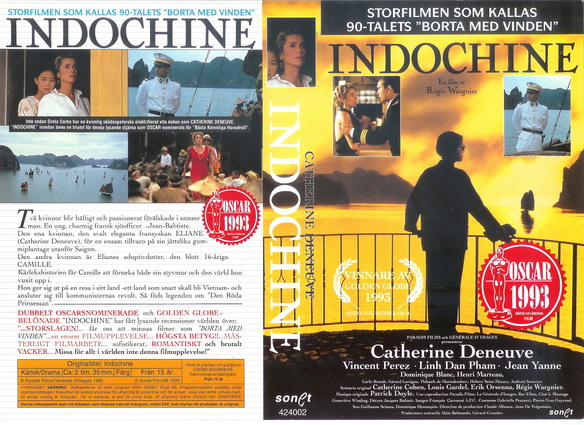 INDOCHINE (VHS)