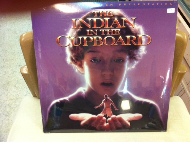 INDIAN IN THE CUPBOARD (LASER-DISC)